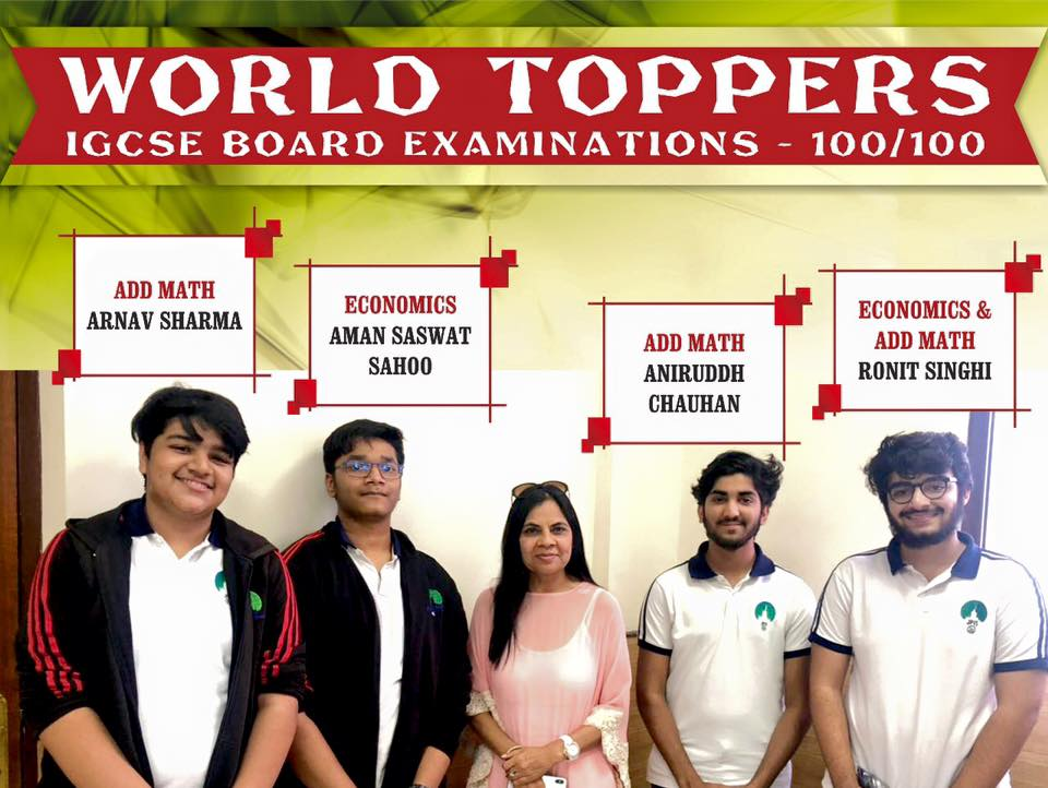 IGCSE World toppers
