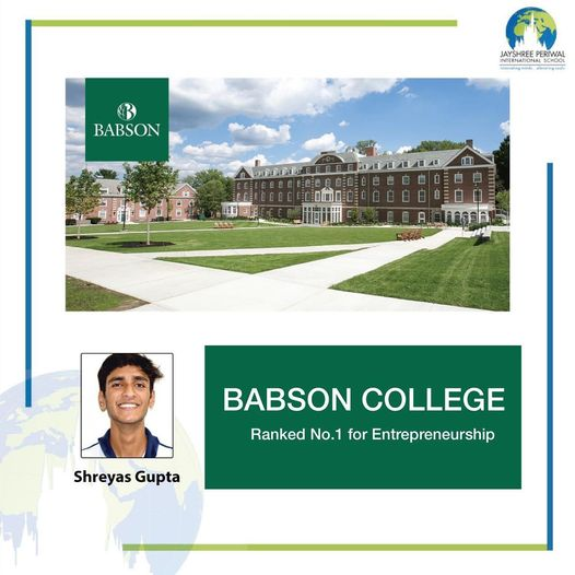 Shreyas-Babson college
